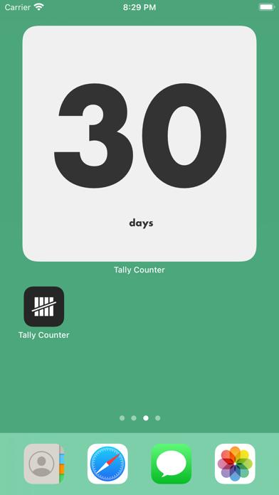 Tally Counter Widget screenshot 1