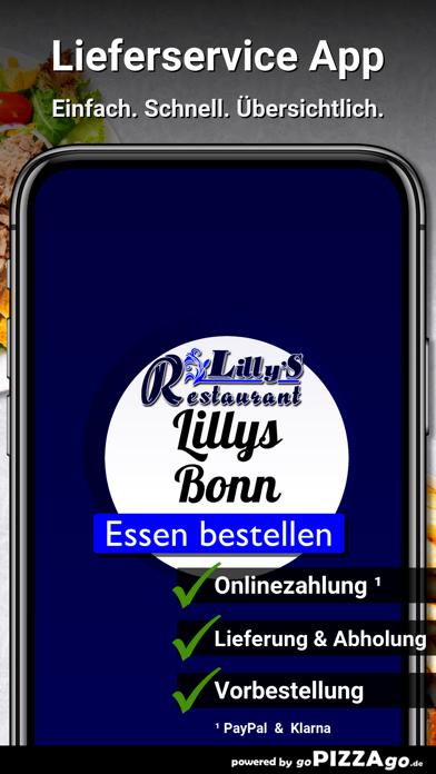 Lillys Restaurant Bonn screenshot 1
