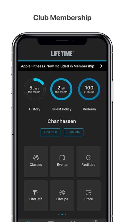 Life Time Member App screenshot-0
