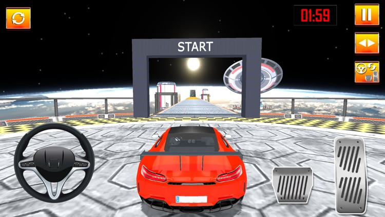 Crazy Car Stunts Racing Game screenshot-5
