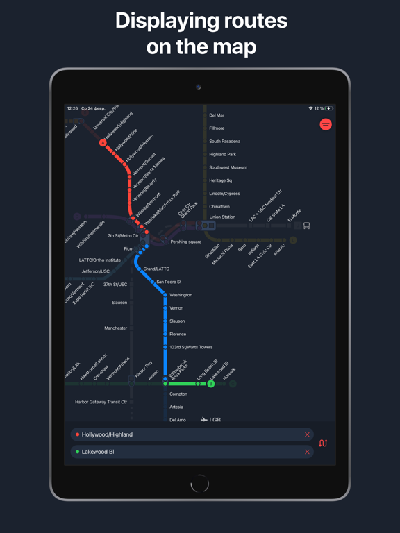 Metro LA - Los Angeles map screenshot 5