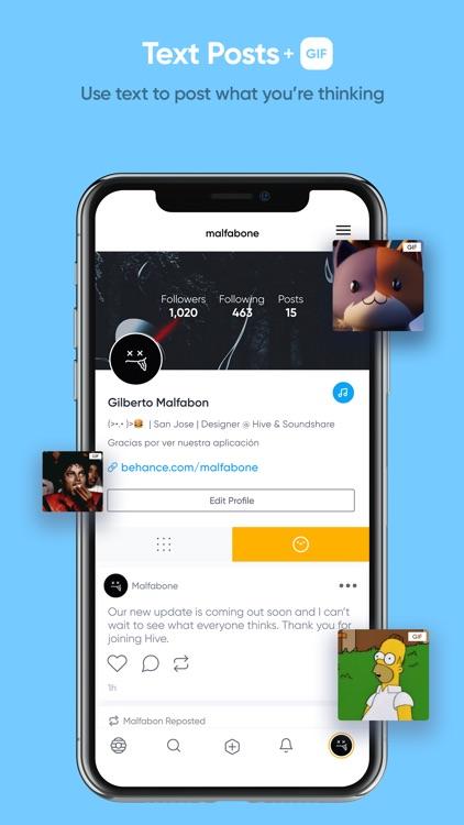 Hive Social screenshot-3
