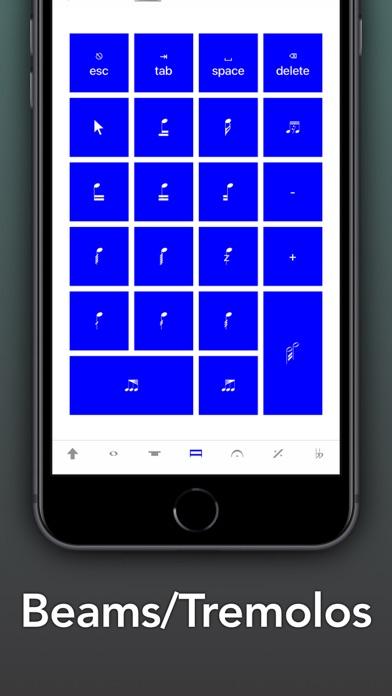 Screenshot #3 pour Sibelius KeyPad for Mac