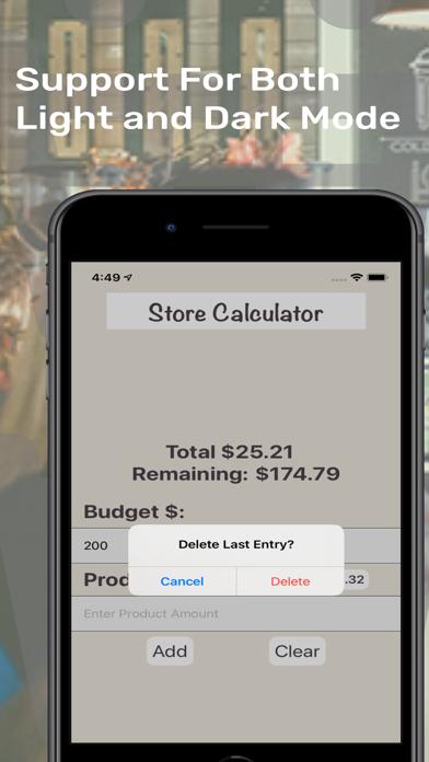ShopEeZe: Shopping List Calc screenshot 5