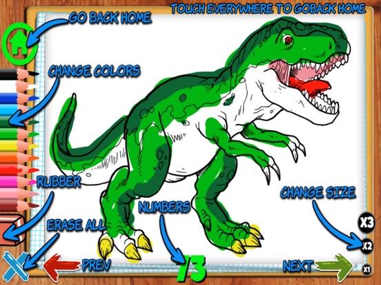 Coloring Dinos screenshot 7