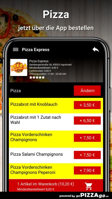 Pizza Express Ingolstadt screenshot 5