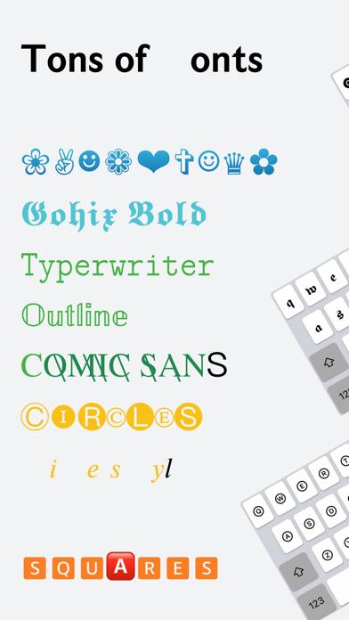 Fonts X - Fonts&Emoji Keyboard Screenshots
