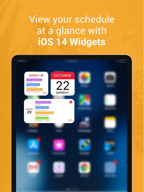 WeekCal - Fully Unlocked iPad app afbeelding 3