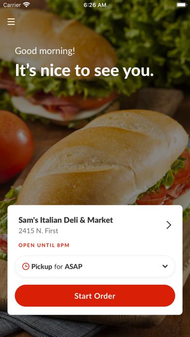 Sam's Italian Deli & MarketScreenshot of 2