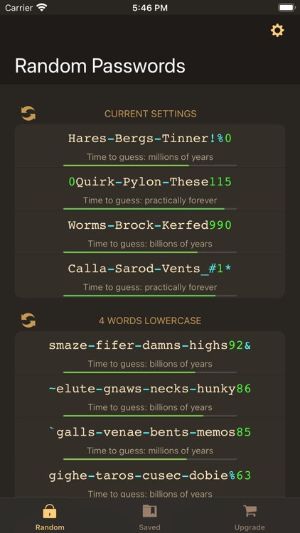 RPG: Random Password Generator