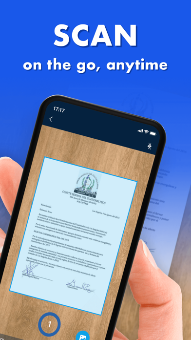 Scanner App - PDF Scanner App Screenshot