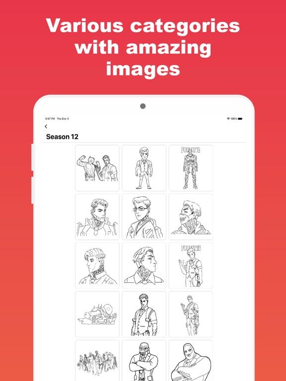Colortnite: お気に入りの塗り絵アプリのおすすめ画像6