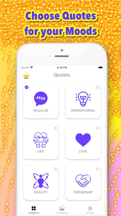 Quotegets - widgets for iphone