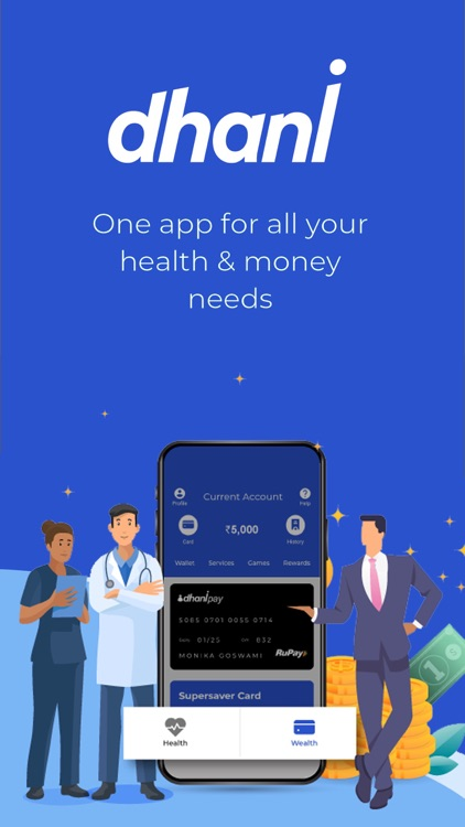 Dhani – Healthcare & Finance