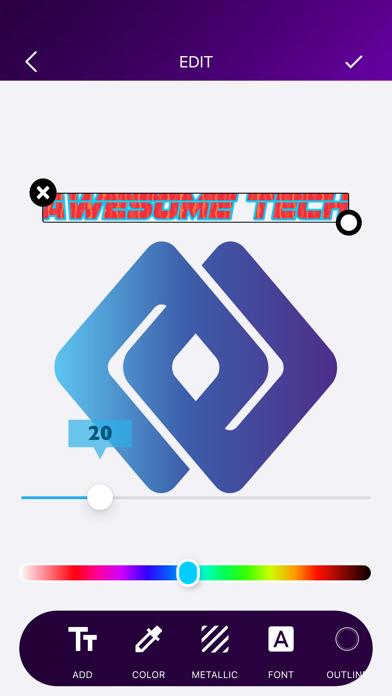 ロゴメーカー ロゴデザインロゴ作成 ロゴデザインのスクリーンショット4