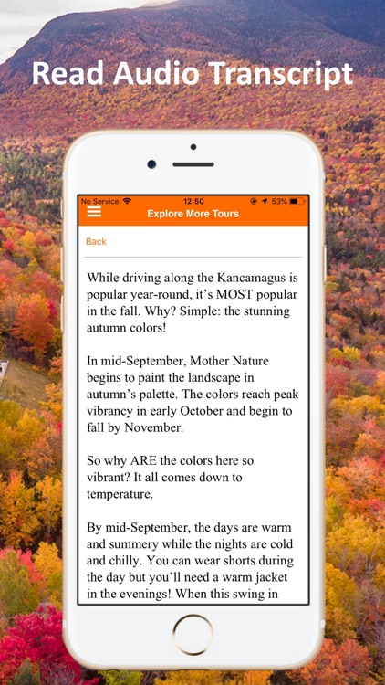 Kancamagus Highway Tour Guide screenshot-5