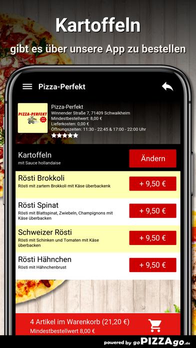 Pizza-Perfekt Schwaikheim screenshot 6