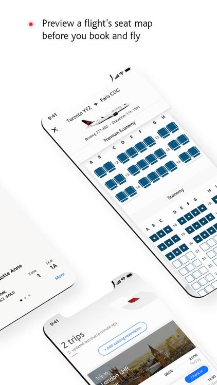 Air Canada + Aeroplan screenshot-4