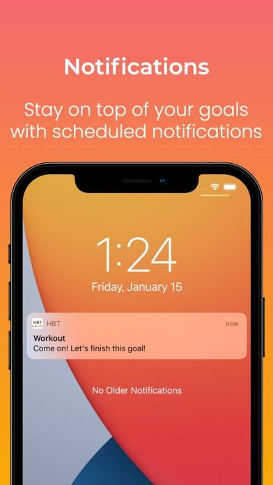 HBT: Habit & Goal Tracker App Screenshot