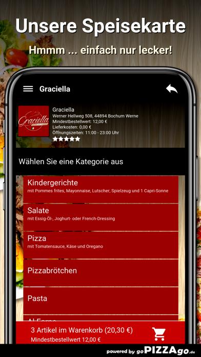 Graciella Bochum Werne screenshot 4