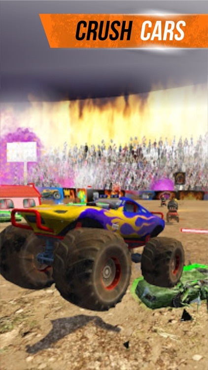 Monster Truck - Soccer Kings screenshot-4