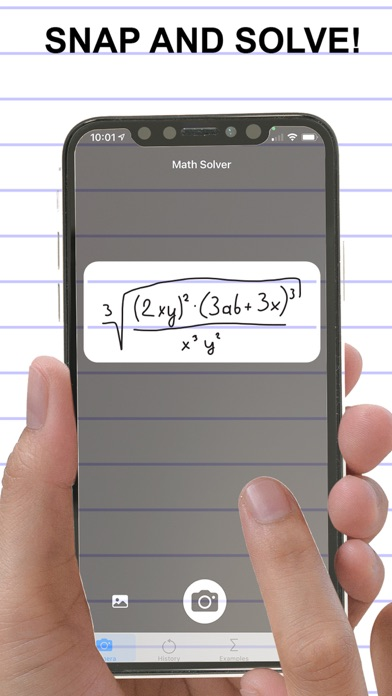 Algebra Math Solver Screenshot
