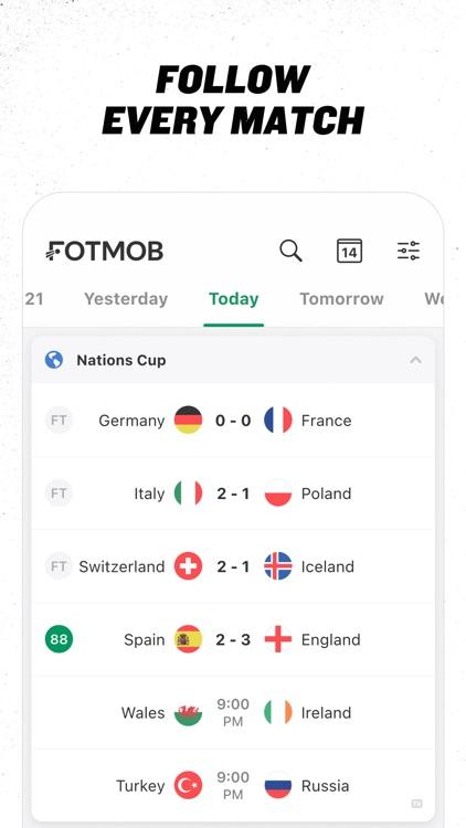 FotMob - Soccer Live Scores screenshot-0