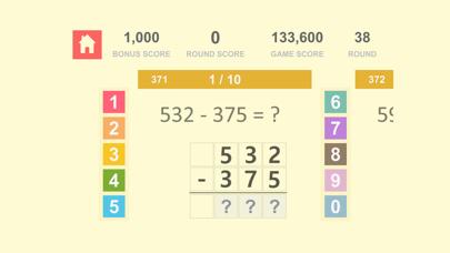 数学の基礎 Math Quiz - 自然数 加算、減算 3紹介画像9