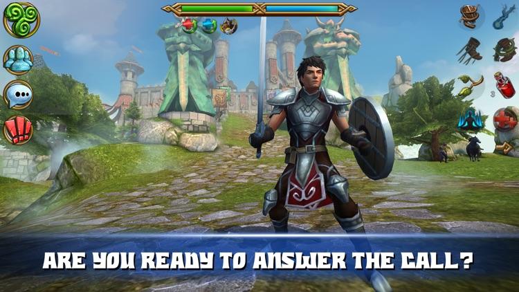 Celtic Heroes 3D MMO screenshot-4