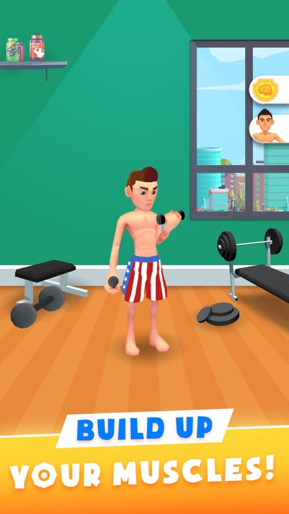 Idle Workout Master: gym game
