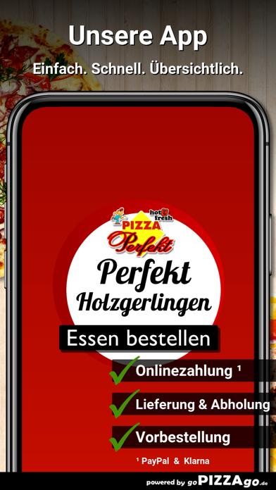 Pizza Perfekt Holzgerlingen screenshot 1