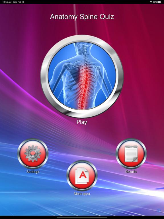 Anatomy Spine Quizのおすすめ画像1