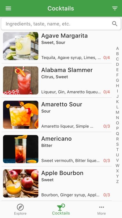 Cocktail Hobbyist - Recipes screenshot-3