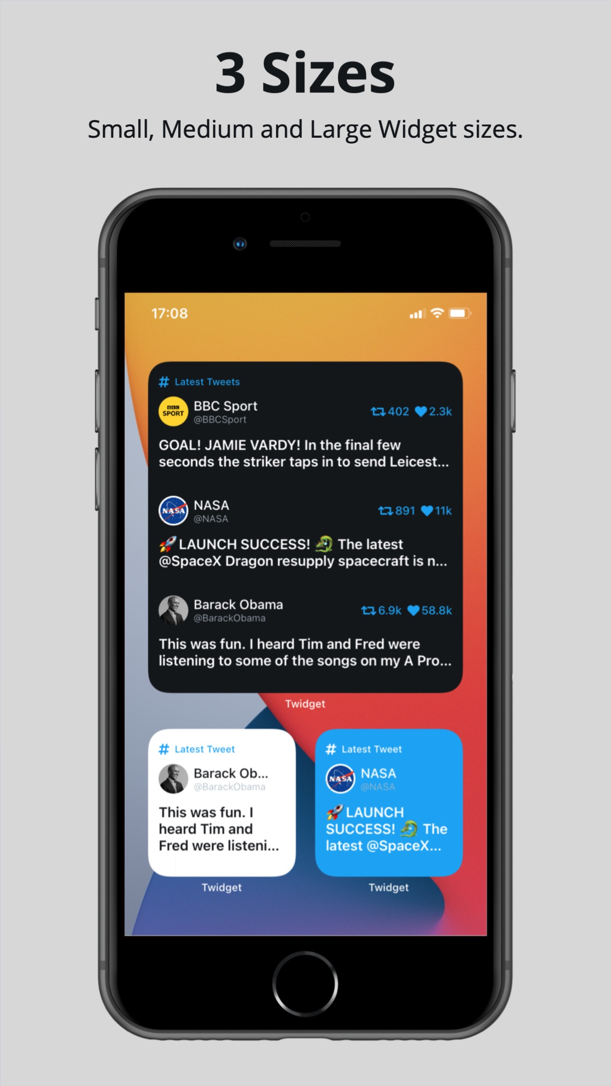 Screenshot do app Twidget - Widget for Twitter