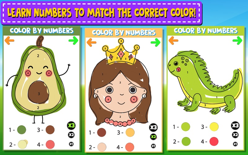 Color And Numbers screenshot 5