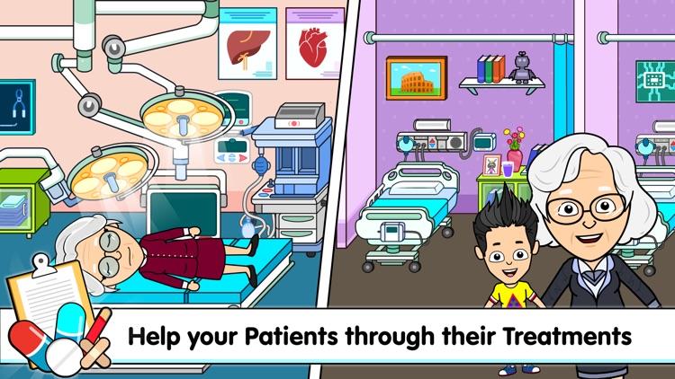 Tizi Hospital Games for Kids screenshot-6