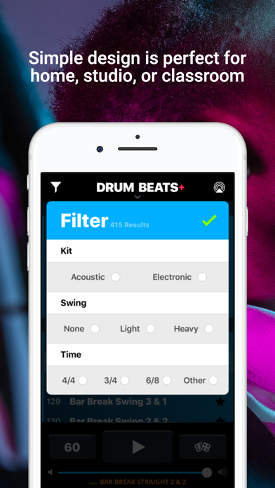 Drum Beats+ Rhythm Machine Screenshots