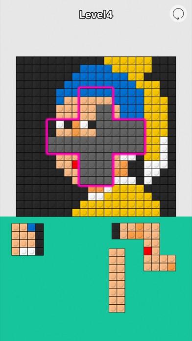 Block Fit Art Puzzle screenshot 2