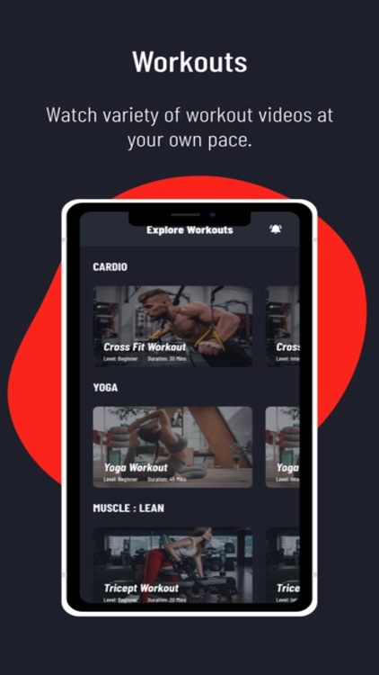 Infinity Fit Mobile App