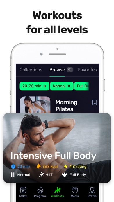 Gravity Fit - At-Home Workoutsのおすすめ画像2