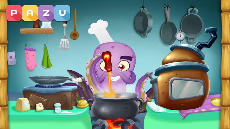 Cooking games for kids Monster screenshot-3