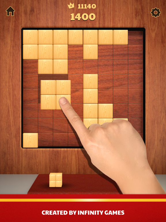 Ipad Screen Shot Wood Blocks 3D 1