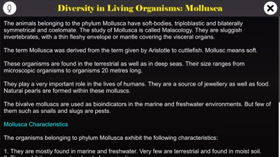 Diversity in Living: Mollusca screenshot 1