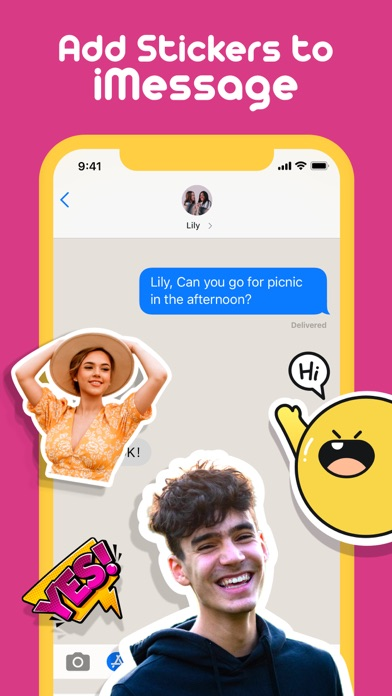 Sticker Studio-Funny Stickers Screenshot