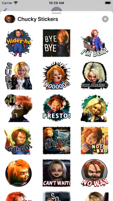 Chucky Stickers screenshot 1