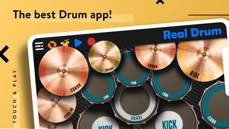 REAL DRUM: Electronic Drum Set screenshot-0