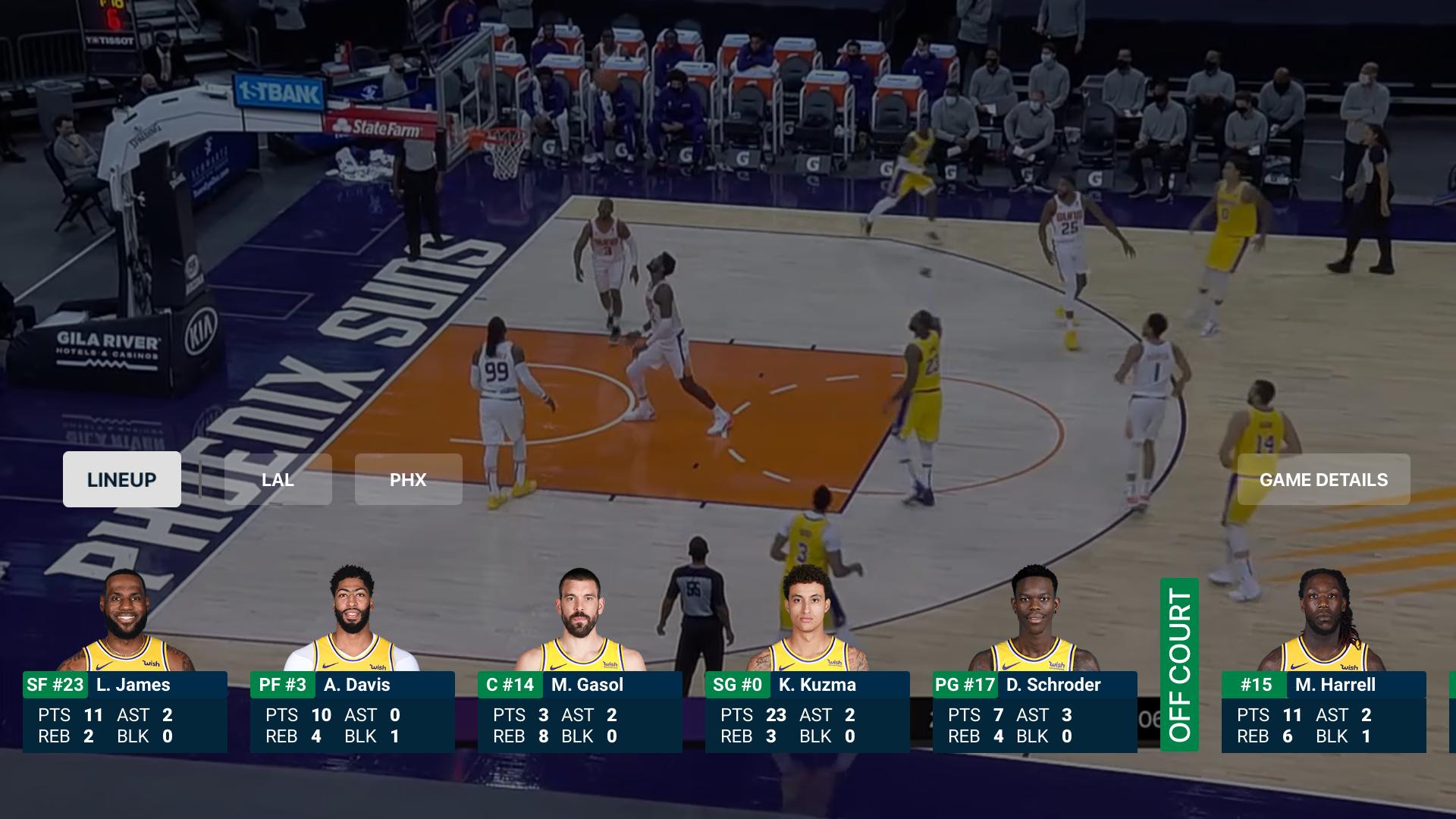 NBA: Live Games & Scores screenshot 11