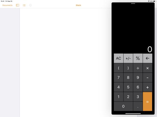 電卓 - 計算機 for iPadのおすすめ画像6