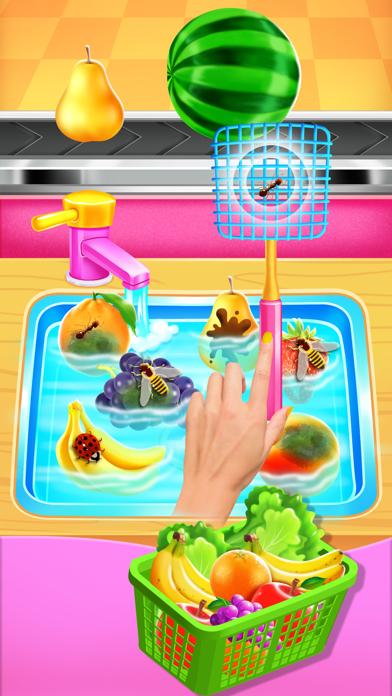 Supermarket Girl Cleanup screenshot #3