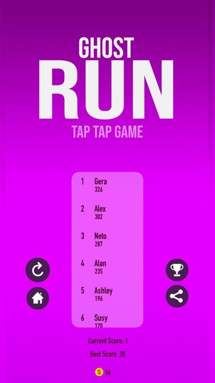 Ghost Run - Tap Tap Game
